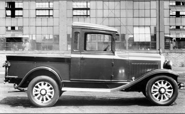 A 1929 Dodge Merchants Express pickup.