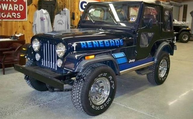 The 1983 Jeep Renegade was one of the last CJ-5s produced.