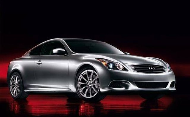 The 2008 G37 coupe.