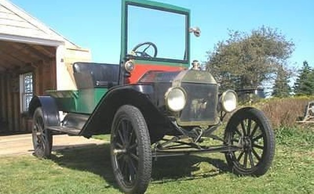 Another conversion, this one a 1915 Model T.