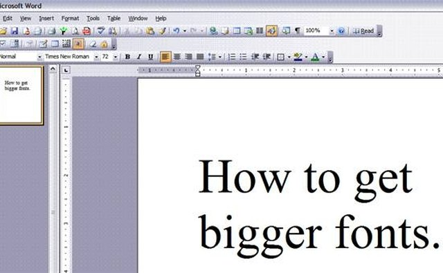 how to make a menu on word