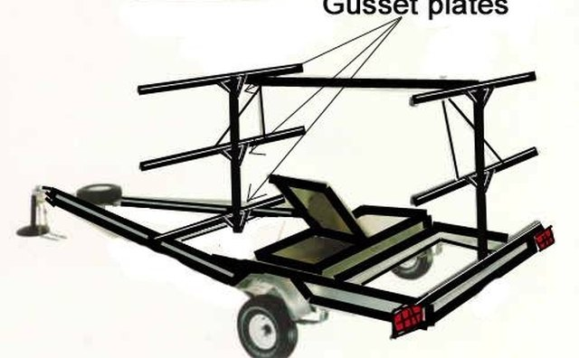 Gusset plate placement