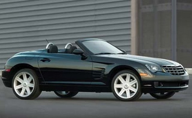 The 2008 Crossfire roadster was the last model year.