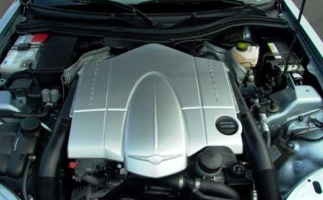 The sturdy V-6 engine in a 2004 Crossfire