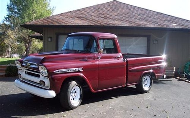 Chevrolet's 1959 Apache pickup was a popular Fleetside