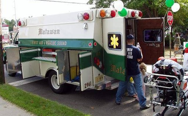 The township of Matawan, N.J., uses a 1986 Econoline as an ambulance