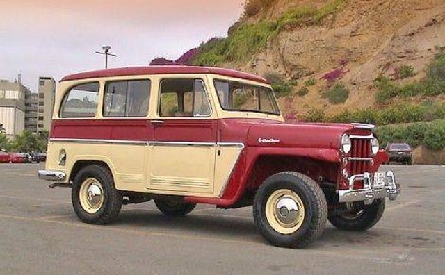 The original SUV: A Willys Jeep.