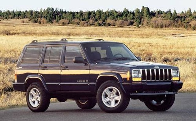 The offspring of the Willys Jeep wagon is the Jeep Cherokee.