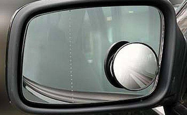 how to set blind spot mirror