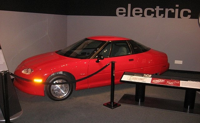 General Motors produced 1,117 EVs in 1996.