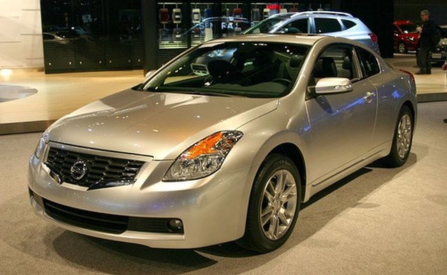 The Nissan Altima coupe is offered in four trim levels.