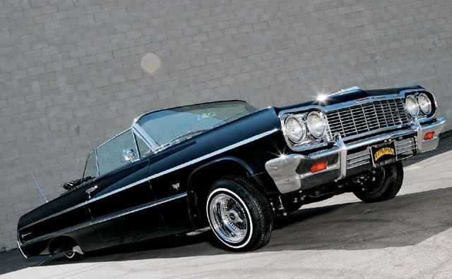 the ever popular 1964 chevy impala lowrider