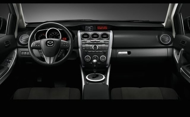 Interior view of the CX-7