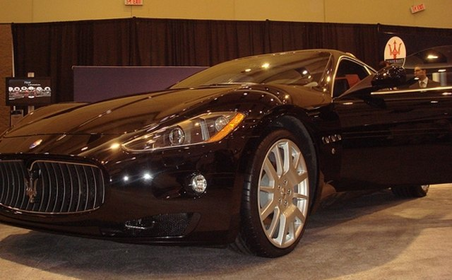 The Maserati Quattroporte is one of the first cars from to feature Bluetooth.