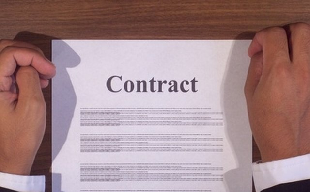 Read the contract or owner's manual.