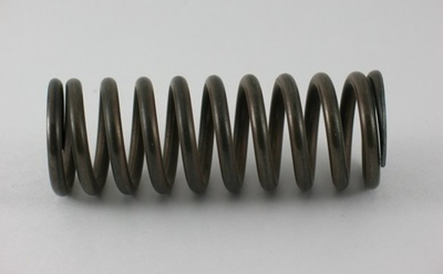 The advantage of gas springs over coil springs is constant force.
