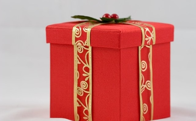 Consider offering gift-wrapped boxes during the holidays.