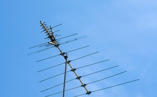 A television antenna can cause EMI.