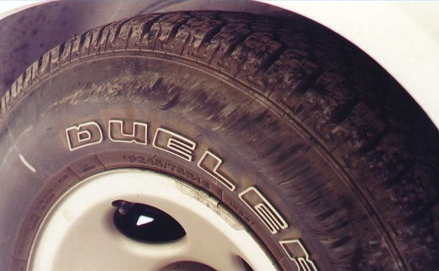 Make your tires look new and scuff-free by applying an easy-to-use product.