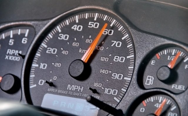Tire height can throw off a car's speedometer.