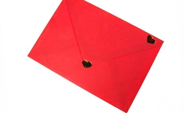 Slip a love letter into your boyfriend's locker when he's not looking.