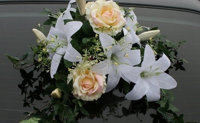 A bouqet of flowers is a beautiful tribute to your loved one.