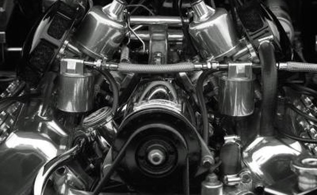 The front of the engine is the location of several important parts of engine.