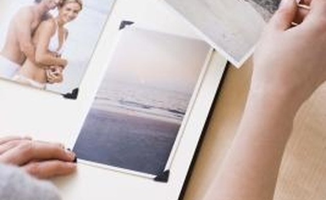 Create a scrapbook of your time together.
