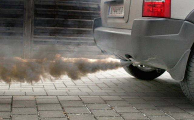 Soot is currently removed from diesel engine exhausts by partticulate filters.
