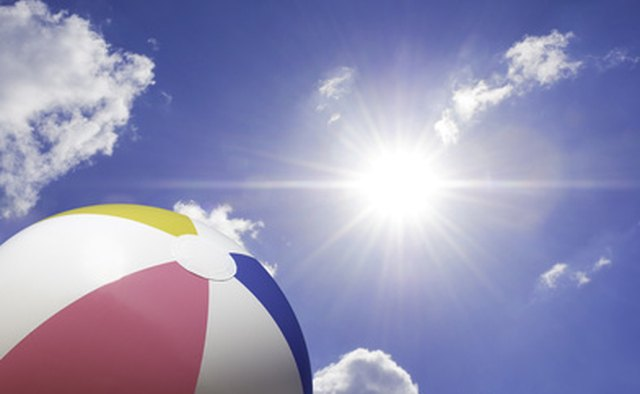 Bible beach ball is a active game to get the family up and moving.