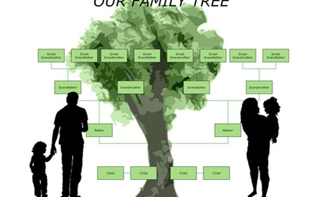 A family tree is a display of only members of the family.
