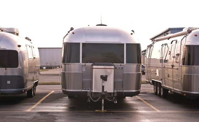 Airstream trailers are aerodynamic and stylish.
