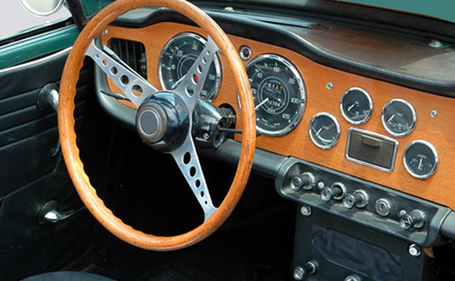 This dashboard can be fabricated from a single piece of plastic.