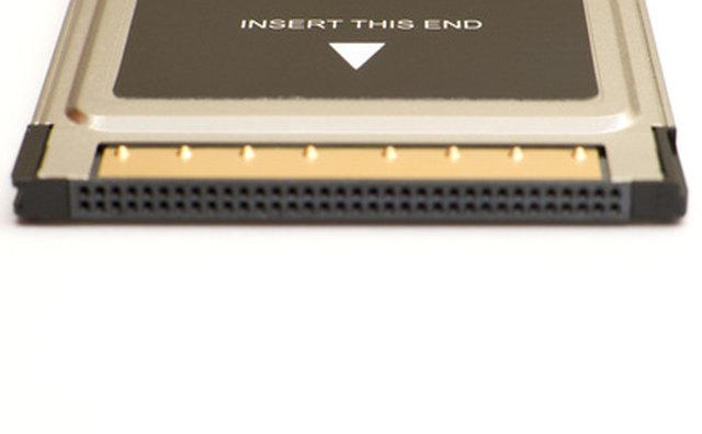 A PCMCIA card for use with laptops.