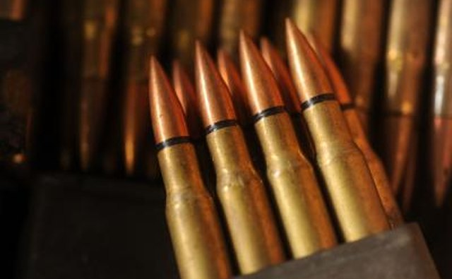 Most American rifles in World War II fired .30cal ammunition, including the famous M-1 Garand.