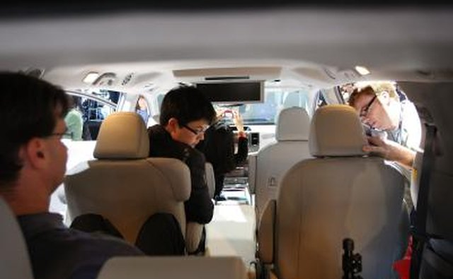 Inside the Toyota Sienna