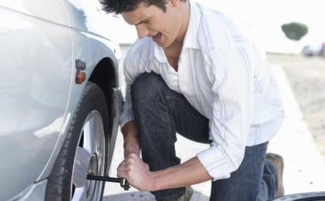 When replacing a vehicle's tires, never mix symmetrical and asymmetrical tires.
