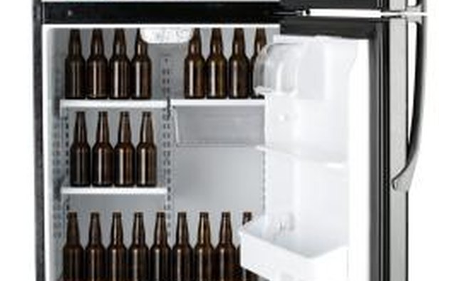 A fully stocked fridge and freezer will please any man.