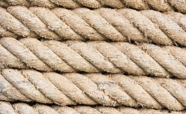 Three-strand nylon rope is the yachtsman's best choice.