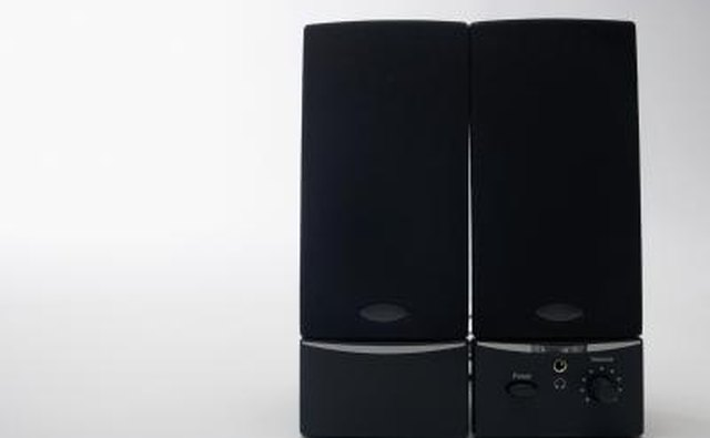 Pair of computer speakers