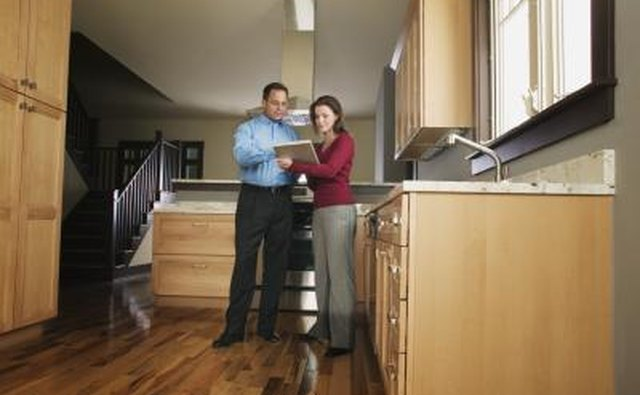 A home inspection may be required.