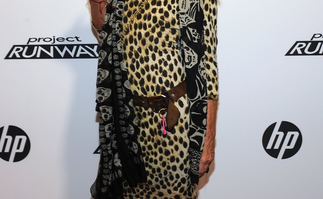 Betsey Johnson at the HP Project Runway Designer Reunion in 2011.