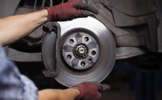 Brake pads are responsible for actually stopping the car.