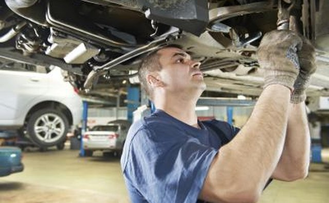 A car mechanic should be able to identify other problems.