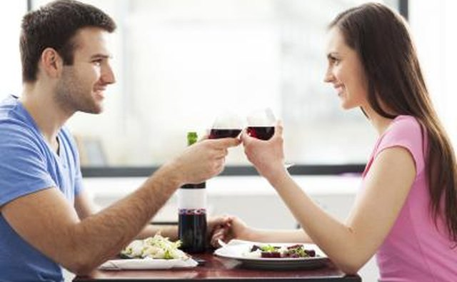 couple on their first date