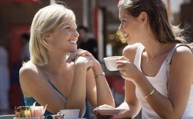 Talk to mutual friends.