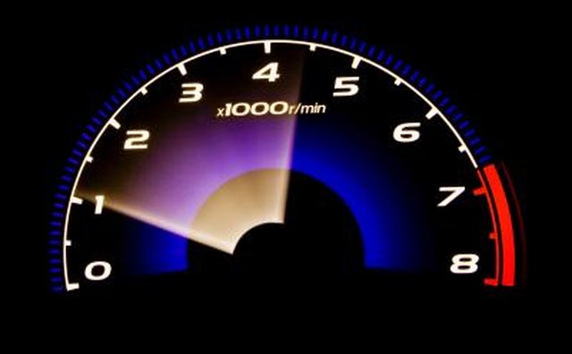 RPMs can normally be measured by a gauge on your dash.