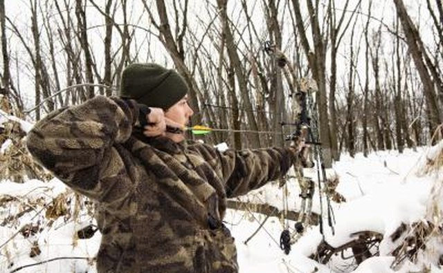 Hunters may only hunt with bows during archery season.