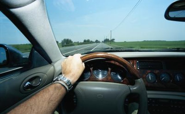 If the front tires are not balanced properly, most of the vibration and movement will be felt in your hands on the steering wheel.