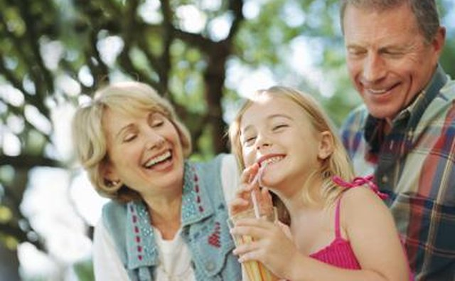 A weekend spent at a relative's home will be a relaxing break for your wife and a fun getaway for your child(ren).
